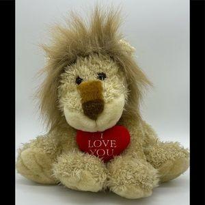 """Gund I LOVE YOU Lion 9"""""""